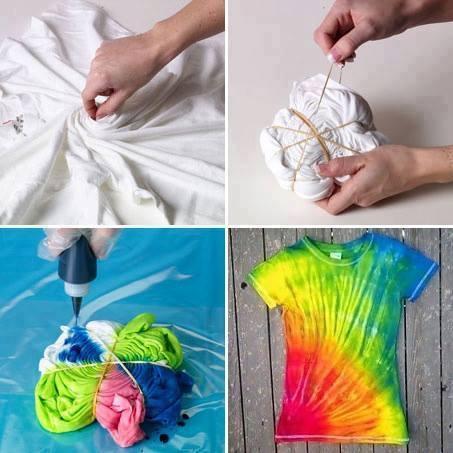 Cute Tie Dye Shirts Tumblr Diy Tie Dye Shirt