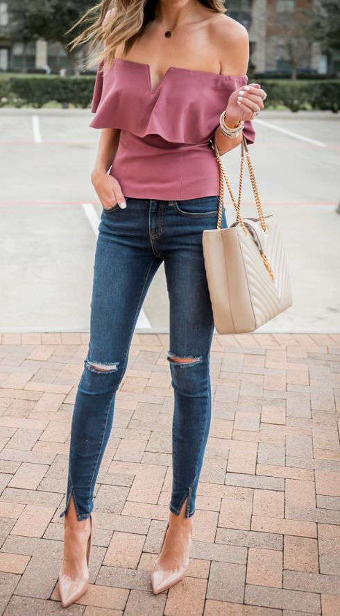 Chic Pink Casual Wear Pictures, Photos