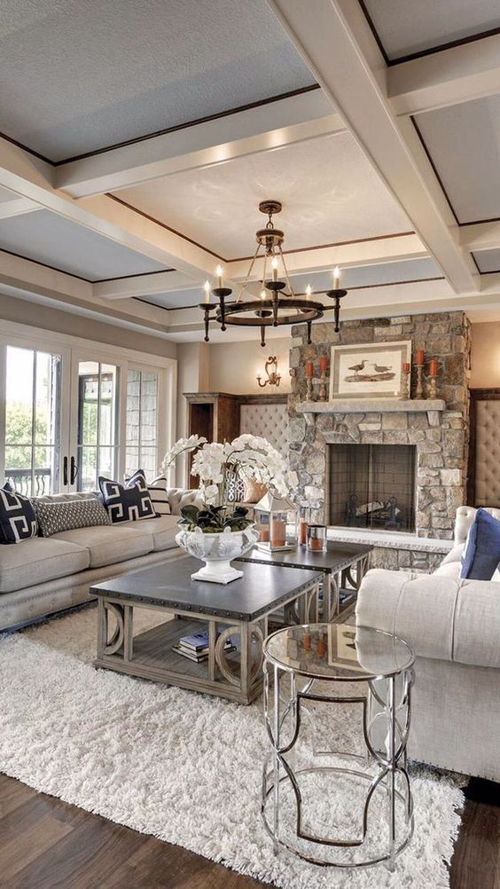 Rustic Chic Living Room Pictures