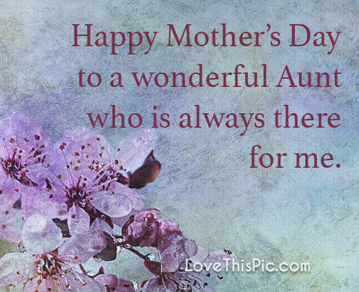 happy mother s day to my aunt pictures photos and images for
