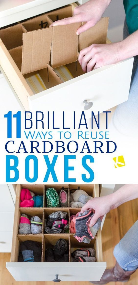 Way to reuse cardboard boxes pictures photos and images for Reuse shoe box ideas