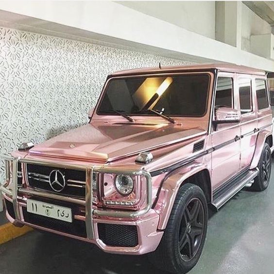 Pink Chrome Mercedes Pictures Photos And Images For