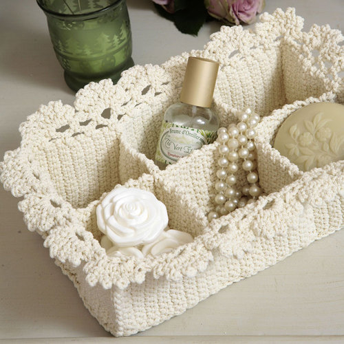 Crocheting Baskets : Crochet Lace Basket Pictures, Photos, and Images for Facebook, Tumblr ...
