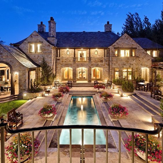 Luxury Pool House: Luxury Home & Pool Pictures, Photos, And Images For