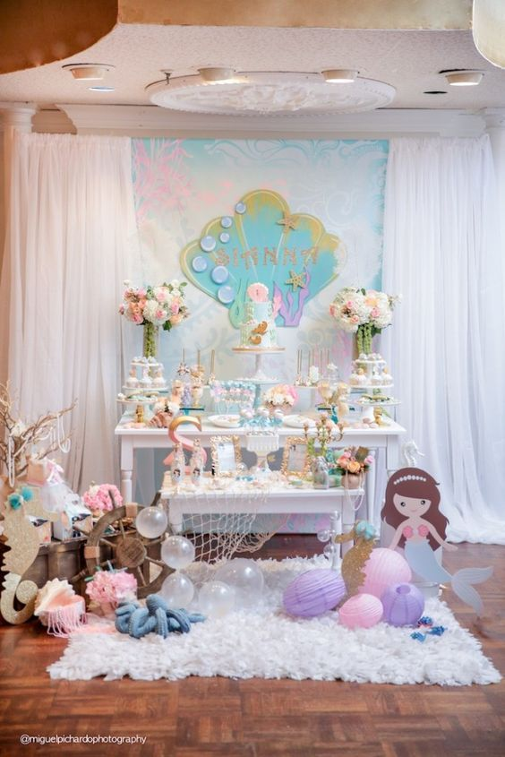 Mermaid Themed Party Pictures, Photos, and Images for ...