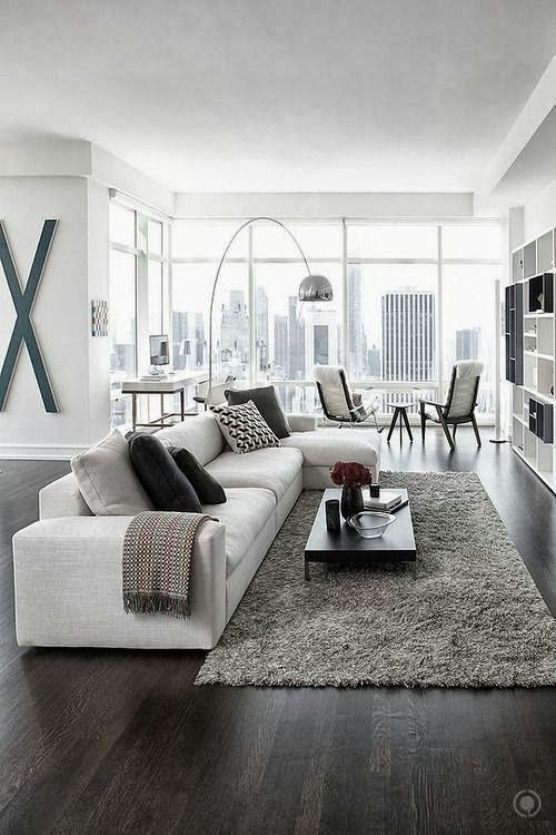 Modern Living Room Decorating Idea