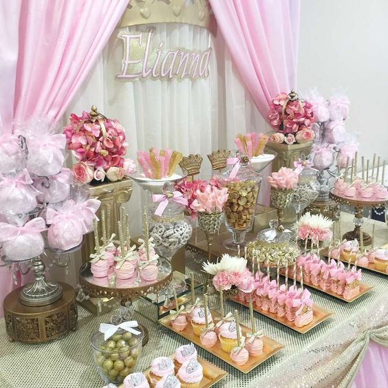 Princess Themed Baby Shower Party Favors Pictures, Photos