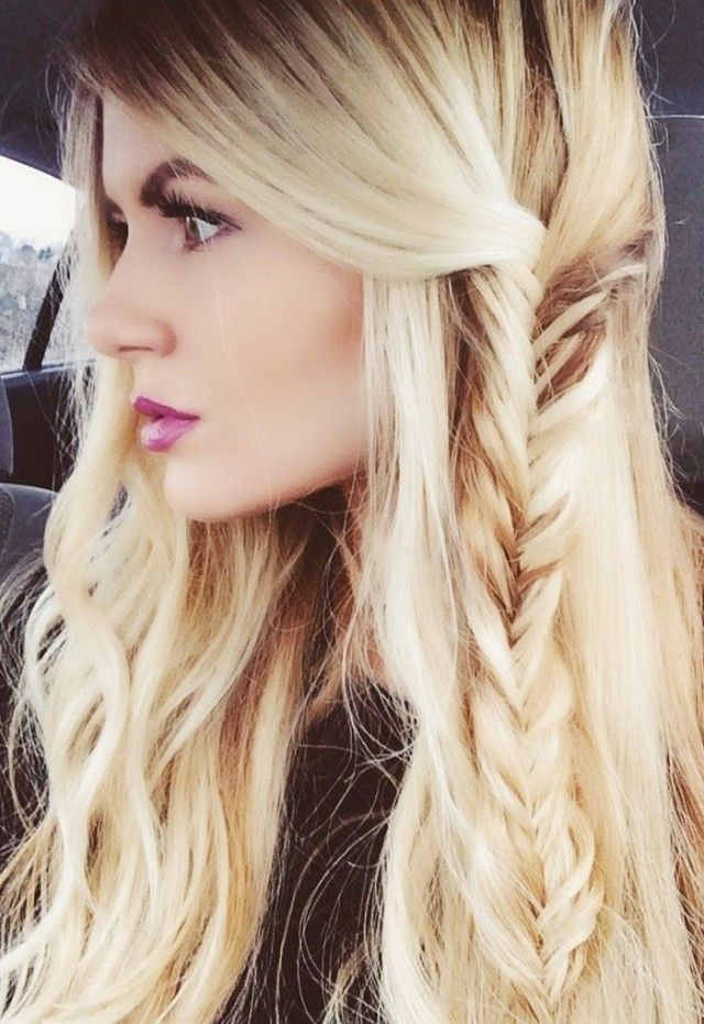 Messy Fishtail Braid Hairstyle Pictures, Photos, and Images ...