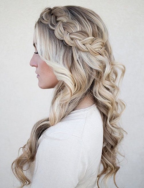 Winter Wedding Hair Ideas Pictures