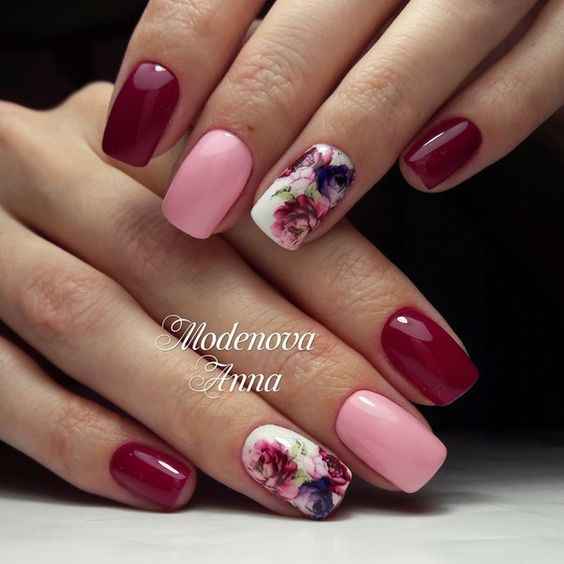 Elegant floral nail art - Elegant Floral Nail Art Pictures, Photos, And Images For Facebook