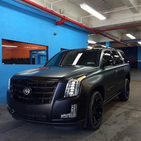 Matte Black Escalade Pictures Photos And Images For