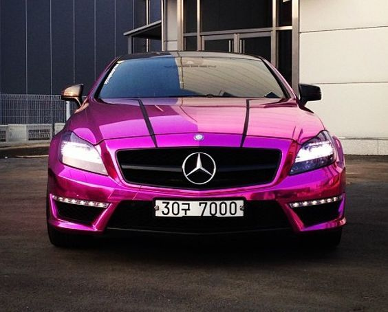metallic pink mercedes pictures photos and images for
