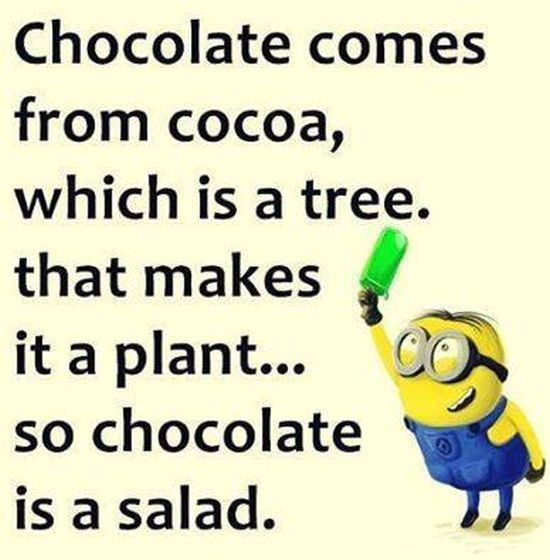 So Chocolate Is A Salad! Pictures, Photos, And Images For