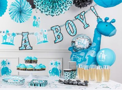 blue safari baby shower ideas pictures photos and images for