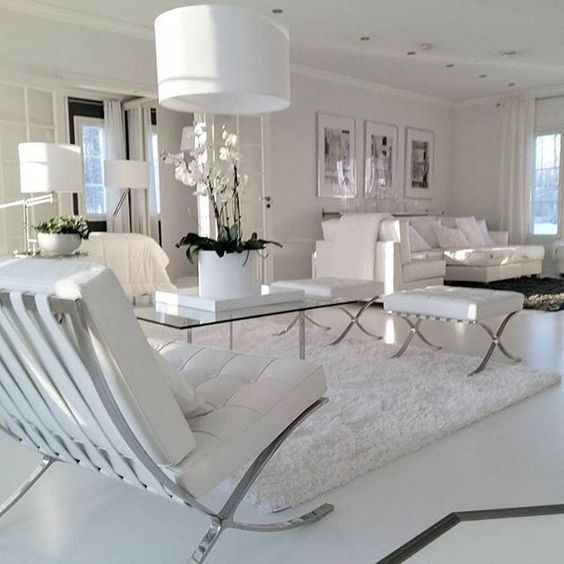 All White Living Room Pictures, Photos, And Images For