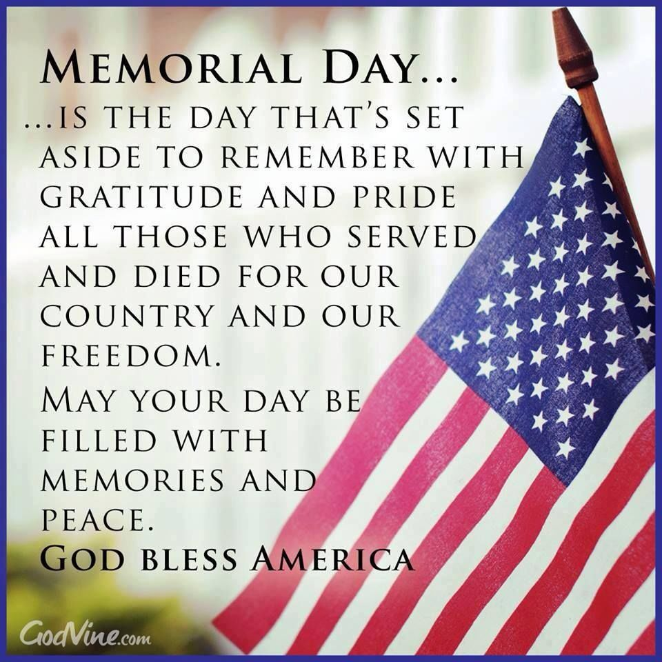 Memorial Day Pinterest Quotes: Memorial Day God Bless America Pictures, Photos, And