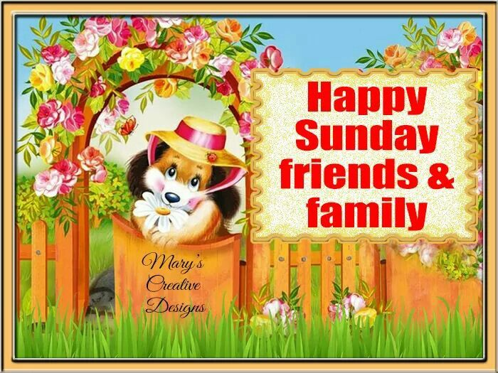 Happy Sunday Friends & Family Pictures, Photos, And Images