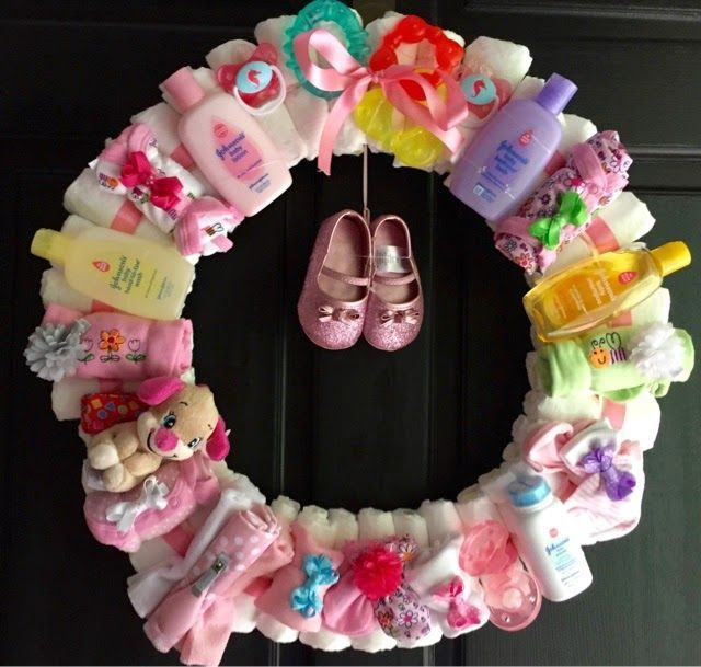 DIY Baby Shower Wreath Pictures, Photos, And Images For