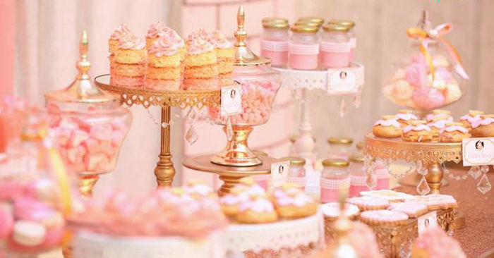 Pink And Gold Princess Party Pictures Photos And Images