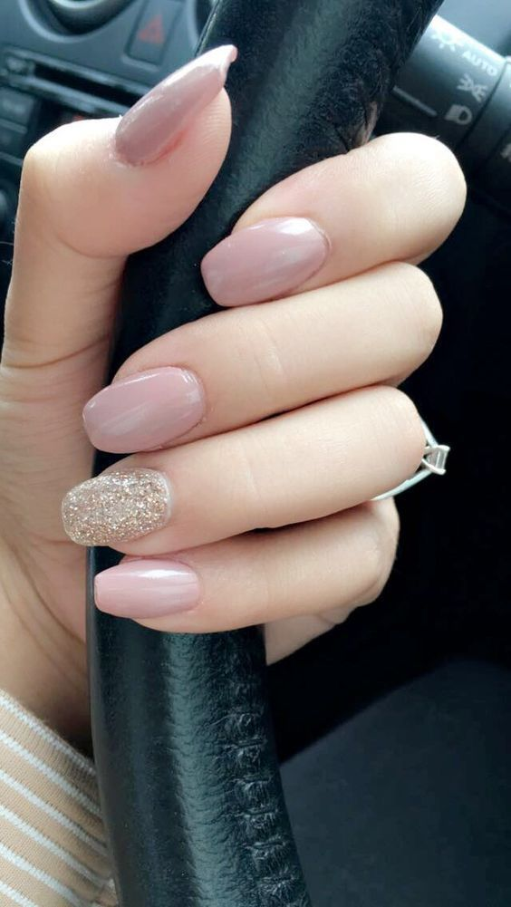 Natural Glittered Nails Pictures, Photos, and Images for Facebook ...