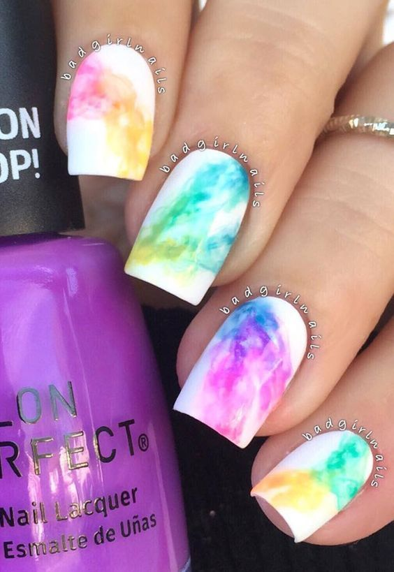 Rainbow nail art Idea - Rainbow Nail Art Idea Pictures, Photos, And Images For Facebook