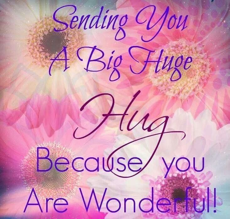 Sending You A Big Hug Because You Are Wonderful Pictures, Photos, and Images for Facebook ...
