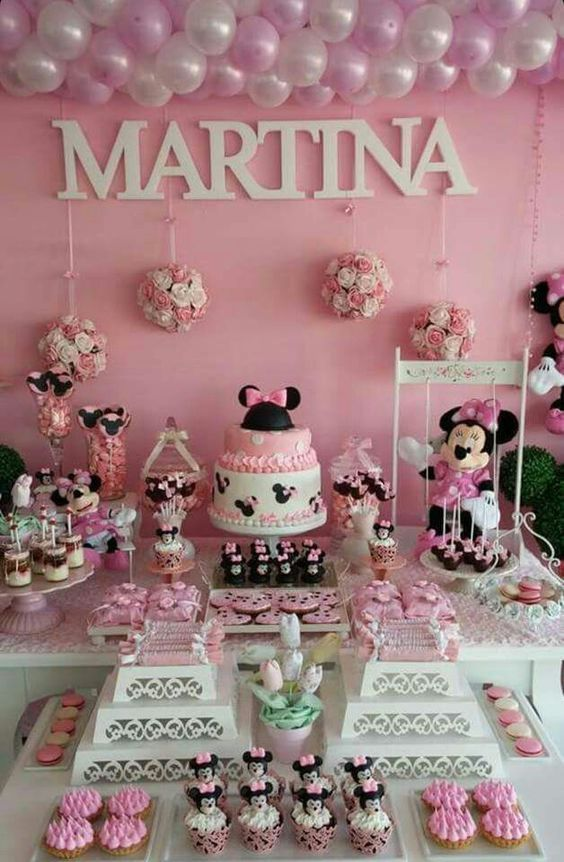Minnie Mouse Themed Baby Shower Pictures Photos And Images For