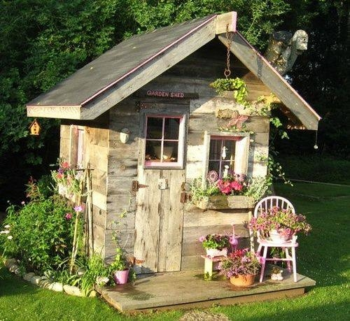 Charmant Cute Garden Shed
