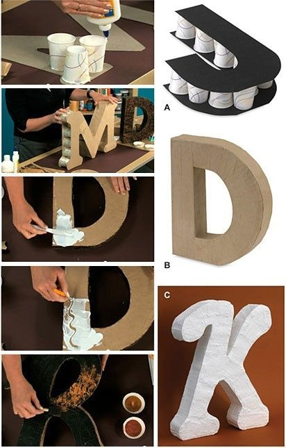 Diy Monogram Letters Pictures, Photos, and Images for Facebook