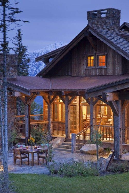 Rustic home pictures photos and images for facebook tumblr pinterest and twitter Rustic home architecture