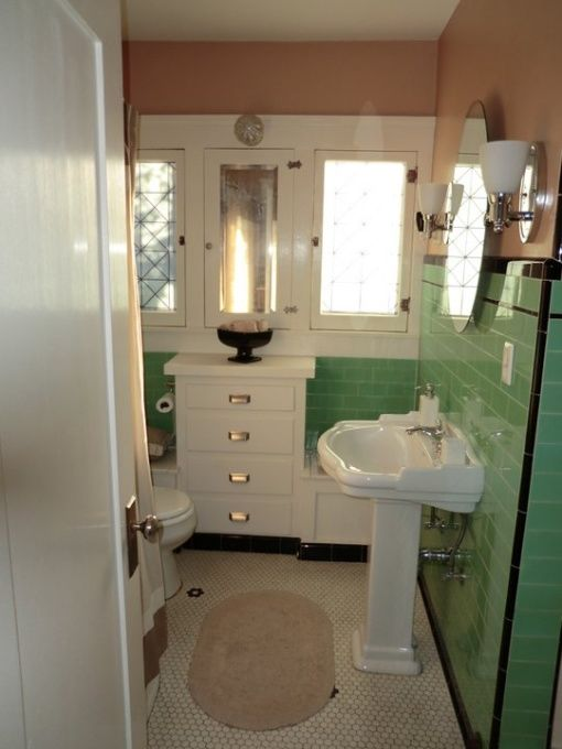 Retro Mint Green Bathroom Pictures, Photos, and Images for ...