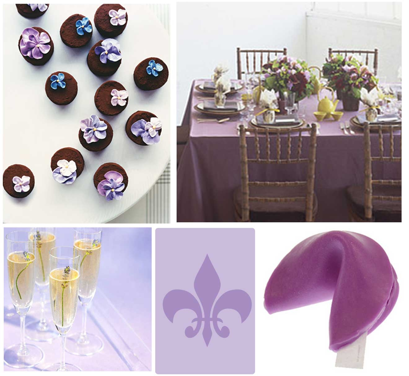 Elegant purple baby shower theme pictures photos and images for
