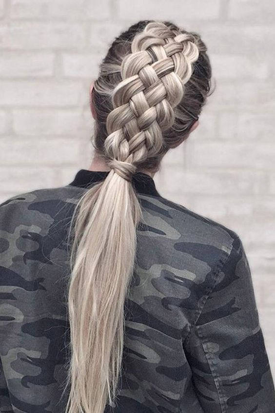 Double French Braid Hairstyle Pictures Photos And Images For