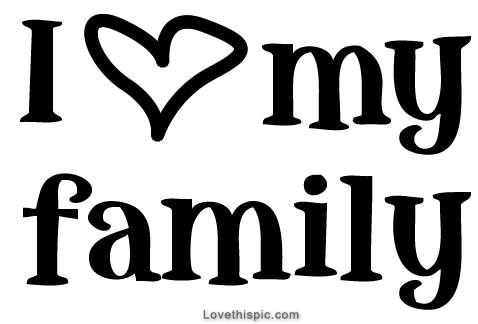 I Love My Family Pictures, Photos, and Images for Facebook, Tumblr ...