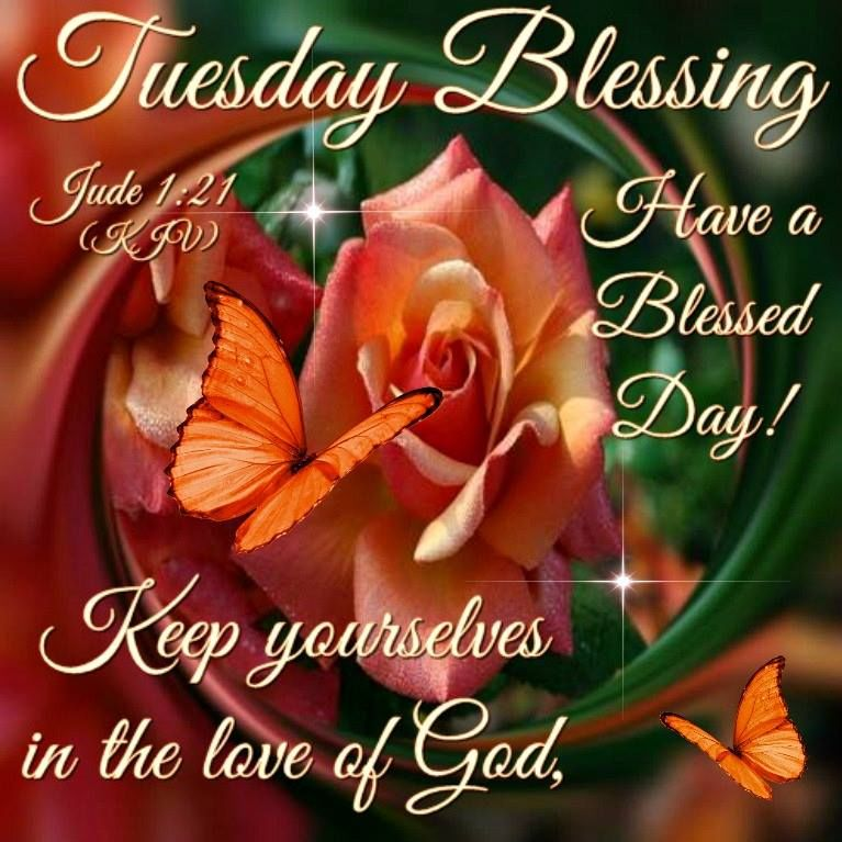 Blessed Day Quotes From The Bible: Tuesday Blessing Pictures, Photos, And Images For Facebook