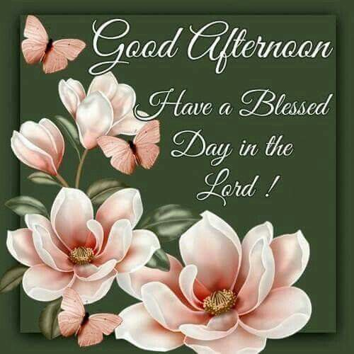Good Afternoon Have A Blessed Day In The Lord Pictures