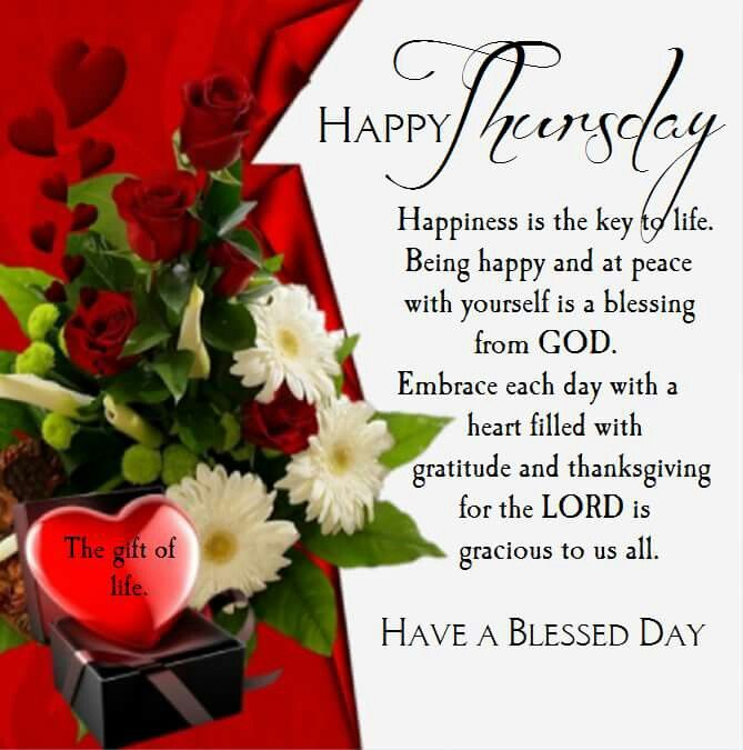 Happy Thursday Have A Blessed Day Pictures Photos And Images For Custom Happy Thursday Quotes