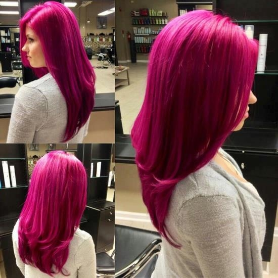 Dark Pink Hair Pictures Photos And Images For Facebook