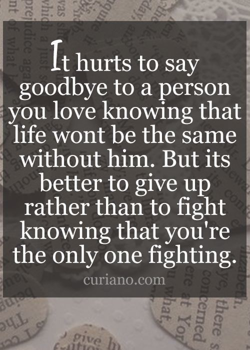 Funny Friend Sayings It Hurts To Say Goodby...