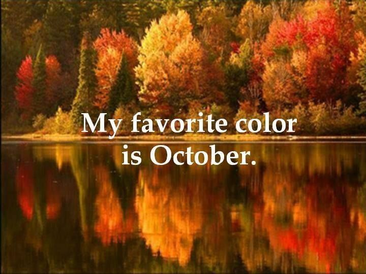 Nice My Favorite Color Is October Pictures, Photos, And Images For Facebook,  Tumblr, Pinterest, And Twitter