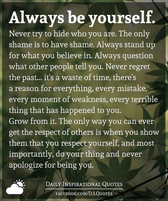 Always Be Yourself Pictures, Photos, and Images for Facebook ...
