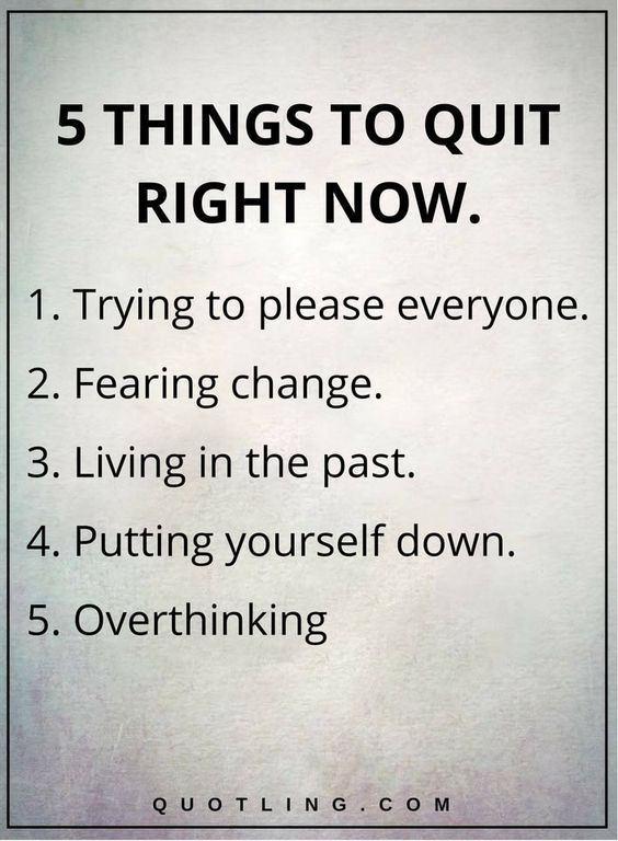 17 Best Images About Good Things On Pinterest: 5 Things To Quit Right Now Pictures, Photos, And Images