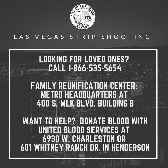 Las Vegas Strip Shooting Information Pictures, Photos, And
