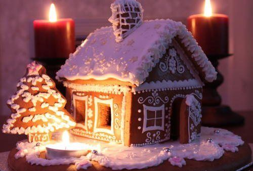 Snow Gingerbread House Pictures, Photos, and Images for