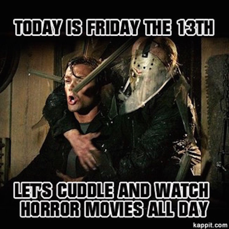 I Want To Cuddle With You Quotes: Today Is Friday The 1th, Let's Cuddle And Watch Horror