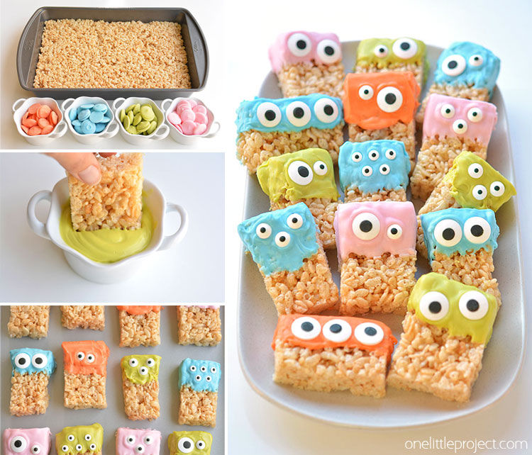 Rice Krispie Monster Treats Pictures, Photos, And Images