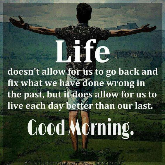 Life Doesn't Allow For Us To Go Back And Fix What We Have ...