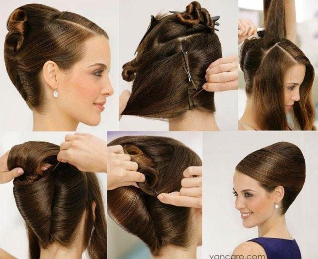 Hairstyles For Short Hair Diy : DIY Updo Hair Style Pictures, Photos, and Images for Facebook, Tumblr ...
