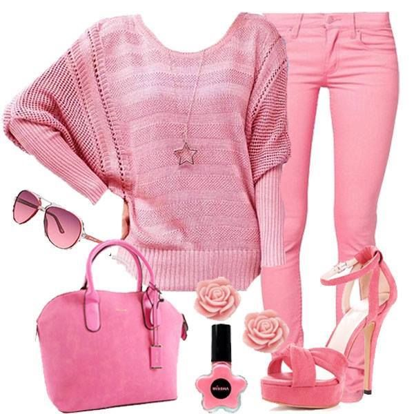 All Pink Outfit Pictures Photos and Images for Facebook Tumblr Pinterest and Twitter