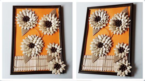 Поделки из тыквы и семечек 536